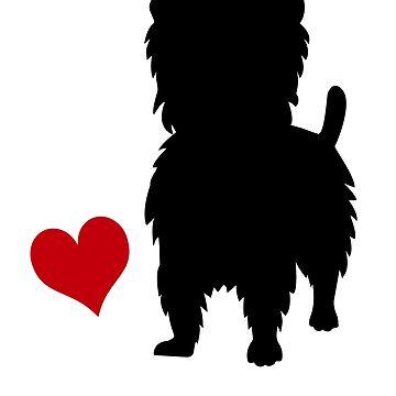 West Highland Terrier by Pferdefreundin