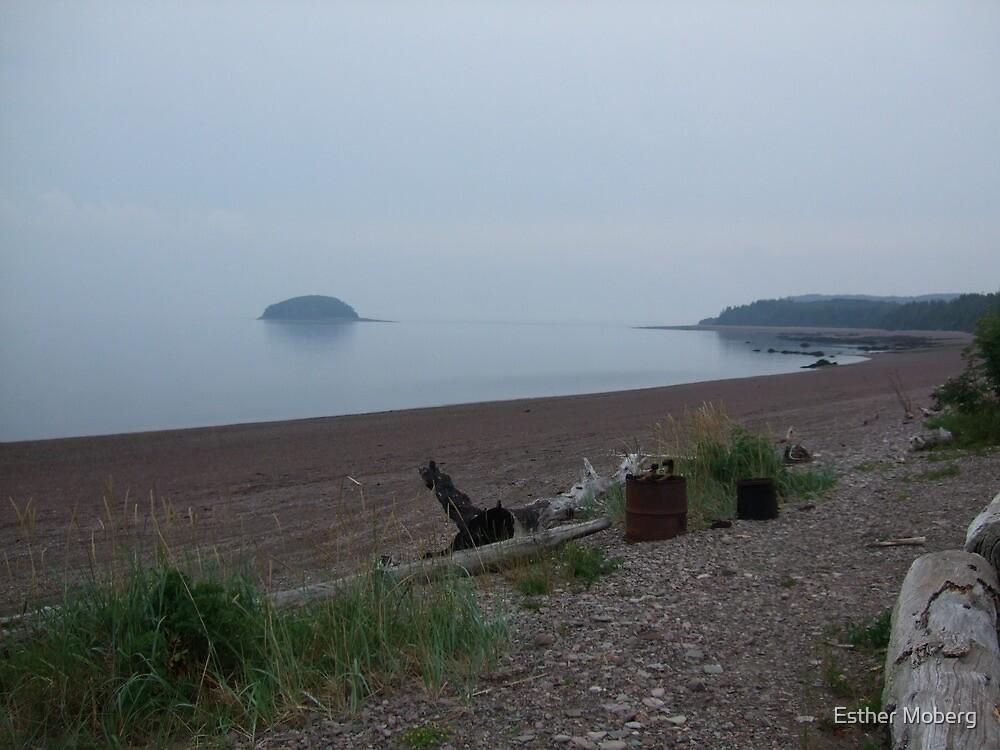 Nova Scotia Beach by Esther Moberg