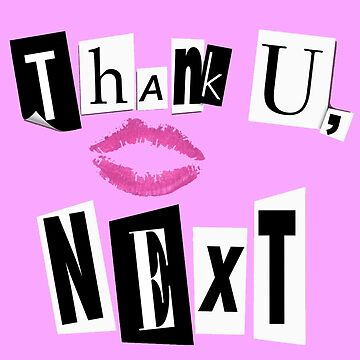 Thank U, Next burn book by nicoloreto