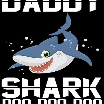 Baby Mommy Daddy Shark Matching Family Shirts- The Shark Family Apparel by mirabhd