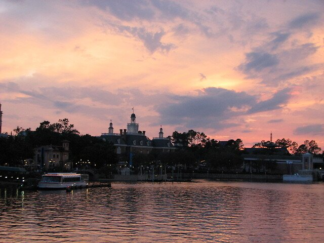 sunset at disney by jack robinson