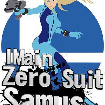 I Main Zero Suit Samus - Super Smash Bros. Ultimate by PrincessCatanna