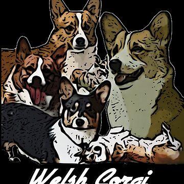 Welsh Corgi by MichCreate