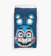 Five Nights at Freddy's 2 - Pixel art - Toy Bonnie Duvet Cover