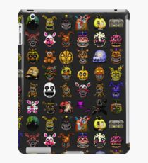 Five Nights at Freddy's - Pixel art - Multiple Characters New Set iPad Case/Skin