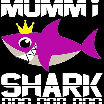 Awesome Mommy Shark doo doo shirt for shark lovers-Best mommy gift idea by mirabhd