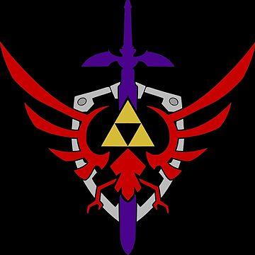 Legend of Zelda Triforce by SeatBeltTurtle
