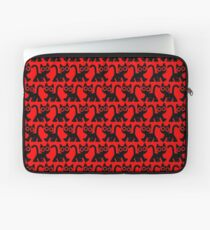 Cute Walking Cartoon Cat by Cheerful Madness!! Laptop Sleeve