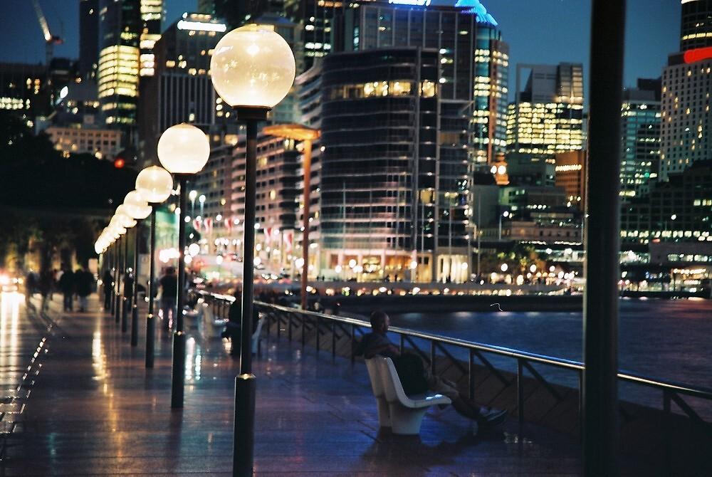 Sydney City at Dusk by Mal Wood