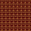 Floral baroque style pattern by Stellagala