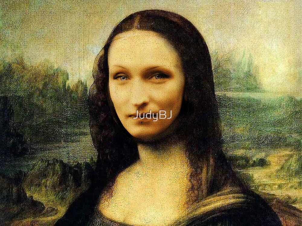 Modern Mona Lisa by JudyBJ