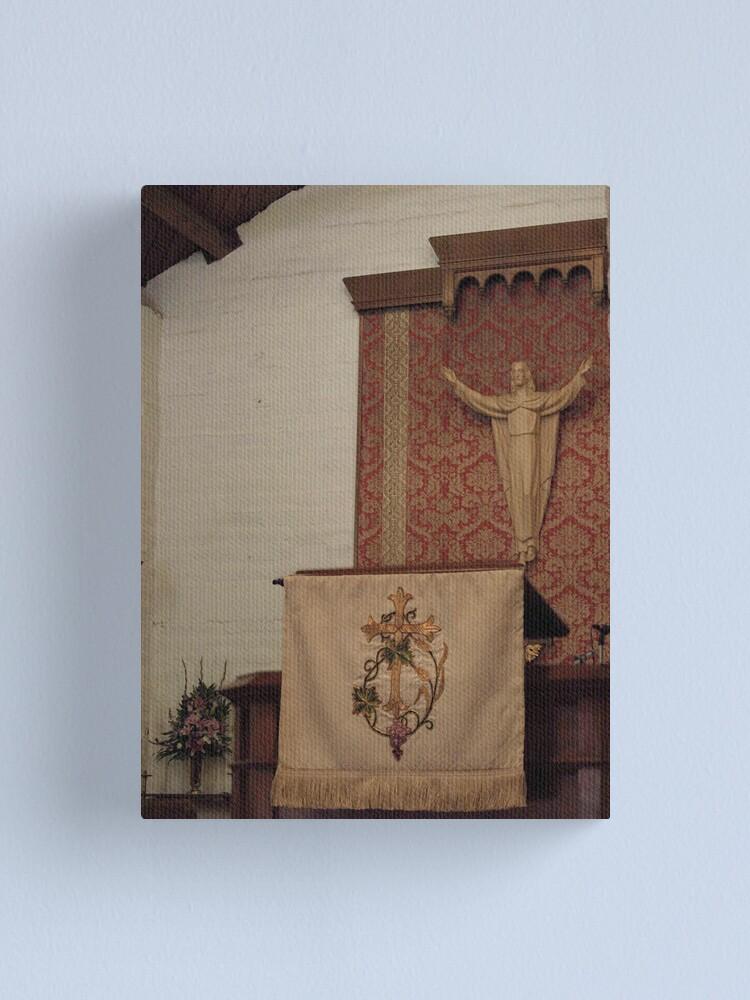 Alternate view of Altar 3 Canvas Print
