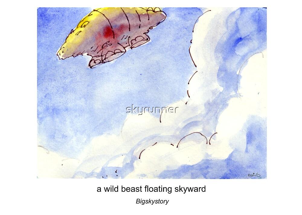 the beast disappears skyward by skyrunner