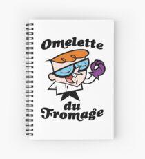 Omelette du Fromage Spiral Notebook