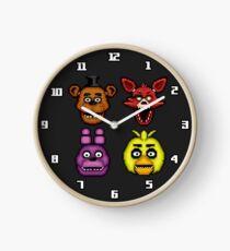 Five Nights at Freddy's 1 - Pixel art - The Classic 4 Clock