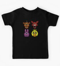 Fünf Nächte in Freddys 1 - Pixel Kunst - The Classic 4 Kinder T-Shirt