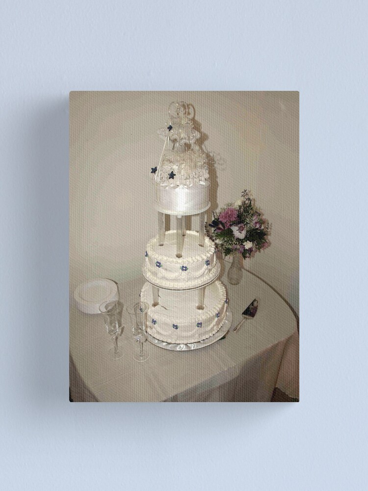 Alternate view of Cake Canvas Print