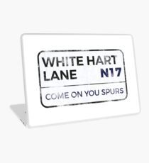 """Tottenham """"Come on you Spurs"""" street sign - Tottenham wall art - Tottenham posters - Tottenham accessories Laptop Skin"""