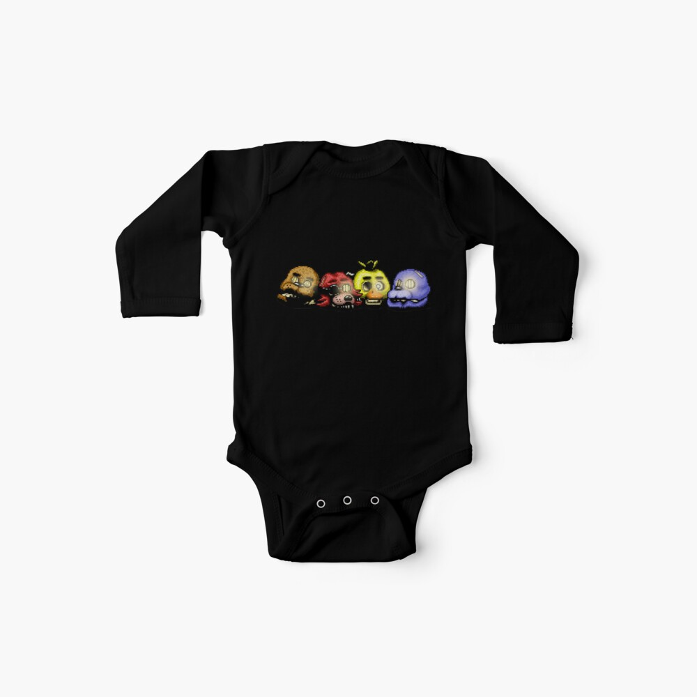 Fünf Nächte in Freddys 3 - Pixel Kunst - Bad Ending Baby Bodys