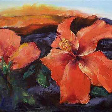 Hibiscus Volcano by michaelcreese