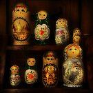The Matryoshka Party by Sashy