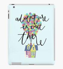 Das Abenteuer ist da draußen iPad-Hülle & Klebefolie