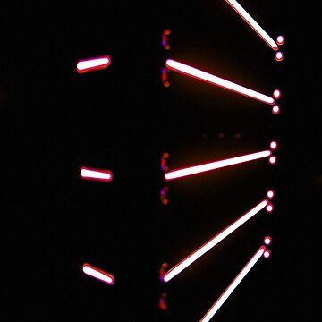 Pink abstract laser lines artwork by Extreme-Fantasy