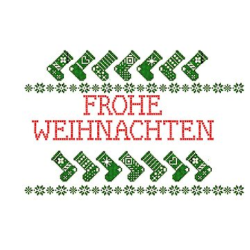 Green socks Merry Christmas by KabaTheBear
