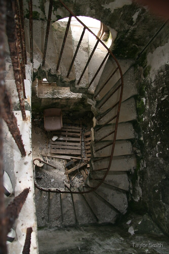 Old Staircase pt. 1 by Taylor Smith