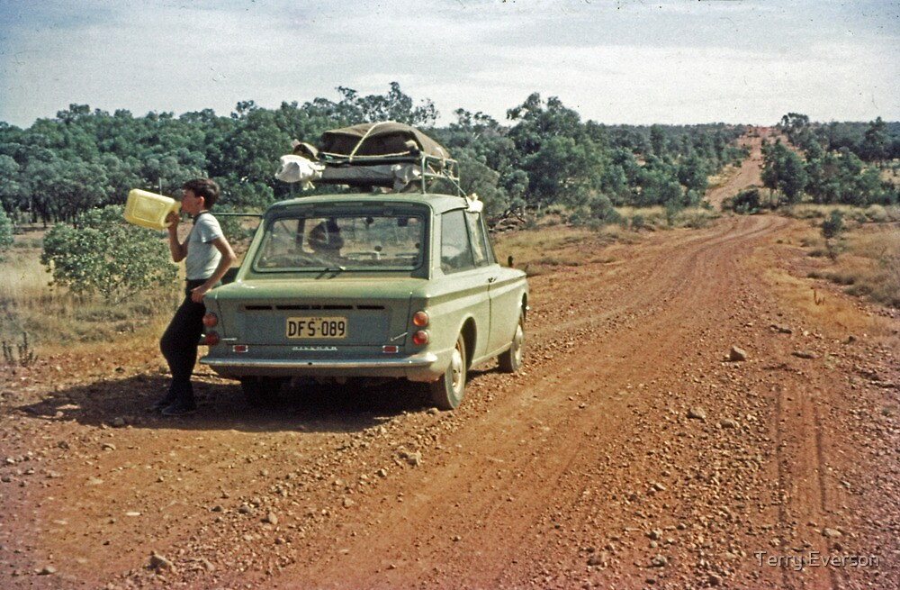 Heading for Cloncurry by Terry Everson