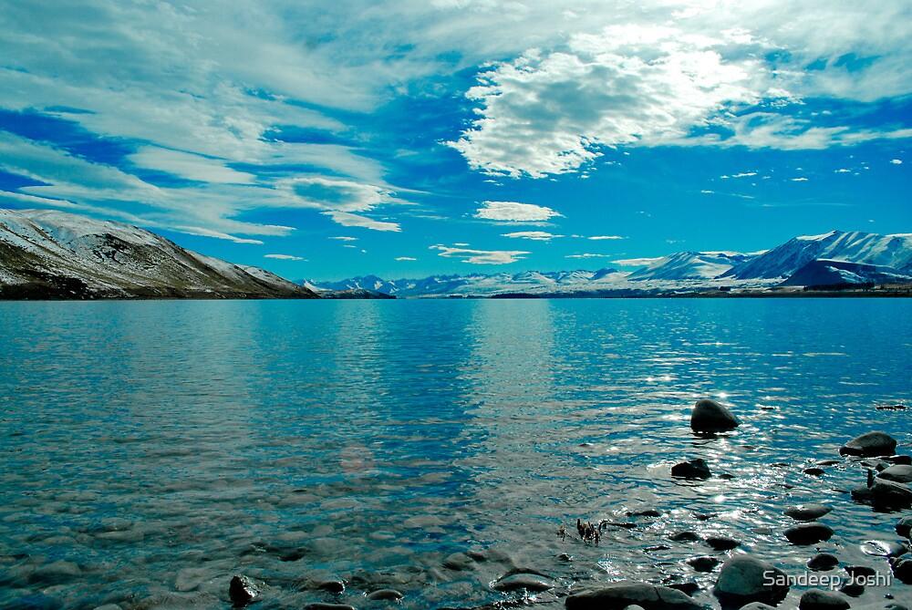 Lake Tekapo by Sandeep Joshi