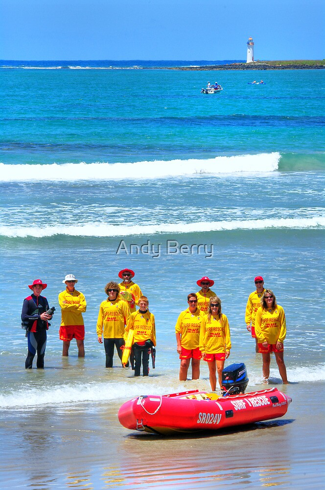 Port Fairy SLSC on patrol by Andy Berry