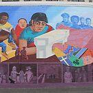 #Mural #Painting #groupofpeople #30years #midadult #20years #youngadult #adult #mural #streetart #people #art #painting #graffiti #realpeople #horizontal #colorimage #wide #women #females #men #males by znamenski
