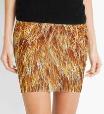 Ginger Red Hair Animal Fur Pattern Mini Skirt