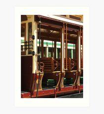 Tram 42 - Side View Art Print