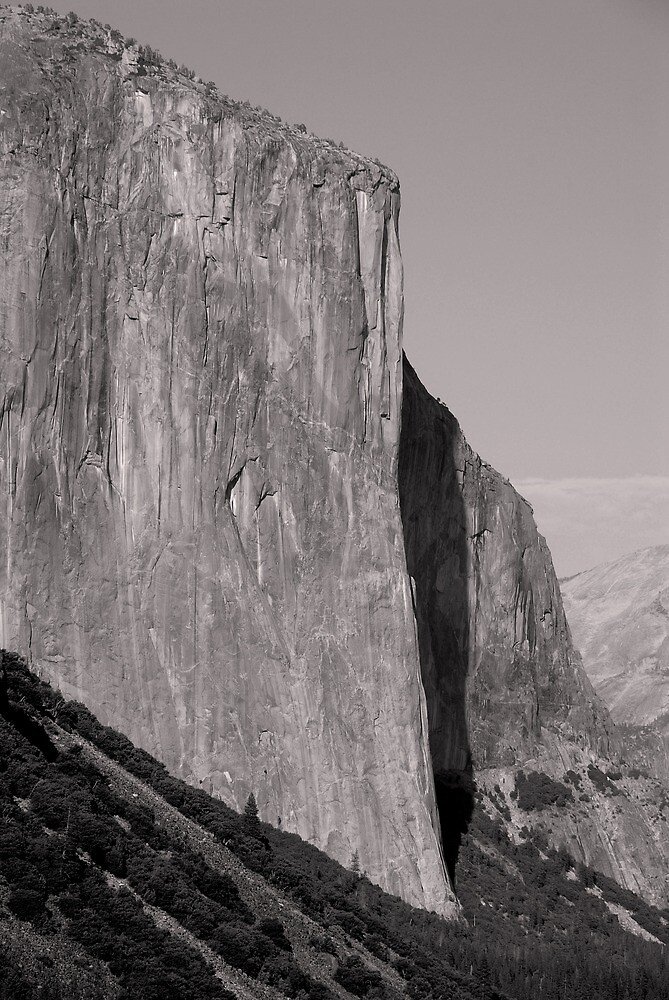 El Capitan ~ mono by Richard  Stanley