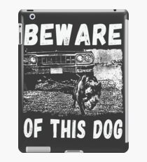 Beware Of This Dog iPad-Hülle & Skin