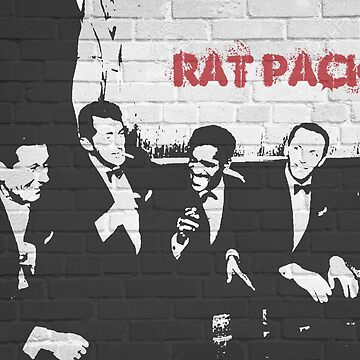Whitewall Graffiti: The Rat Pack by halibutgoatramb