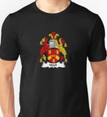 Wolf Coat of Arms - Family Crest Shirt Unisex T-Shirt