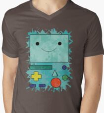 Adventure Time - BMO Men's V-Neck T-Shirt