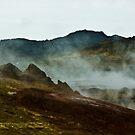 Steaming Rocky Earth I by Matthias Keysermann