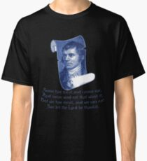 The Selkirk Grace Burns Night Supper Poem Classic T-Shirt
