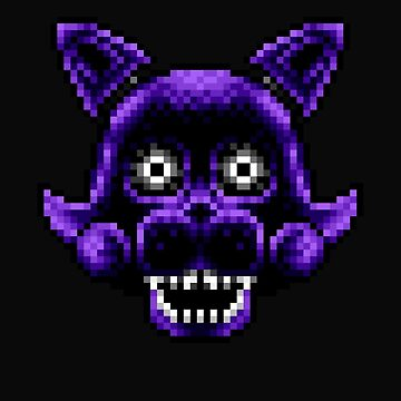 Five Nights at Candy's - Pixel art - Shadow Candy by GEEKsomniac