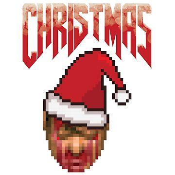 Christmas Doom by spirituart