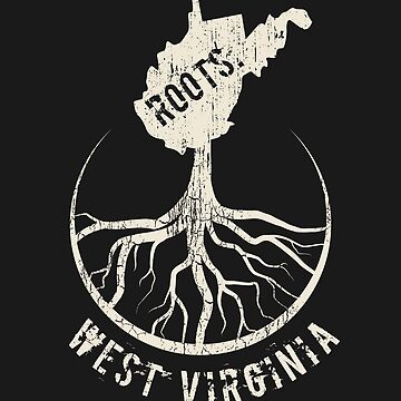 Retro West Virginia Roots State - Proud Homeland - Born And Raised In West Virginia by RaveRebel