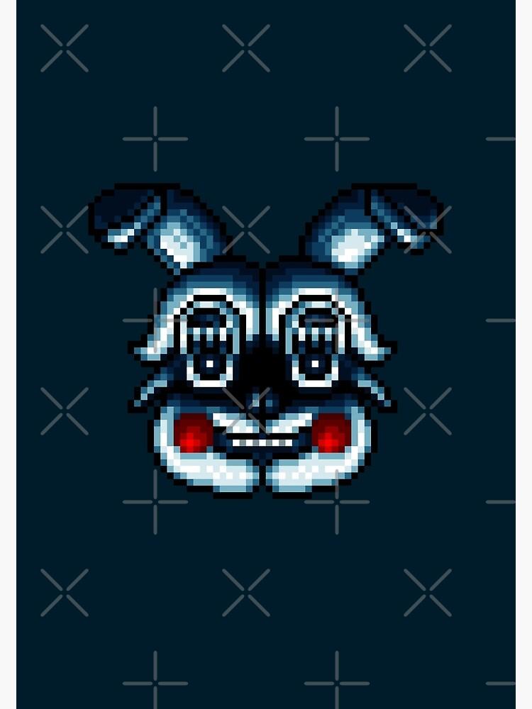 FNAF Schwesterstandort - Pixel Art von GEEKsomniac