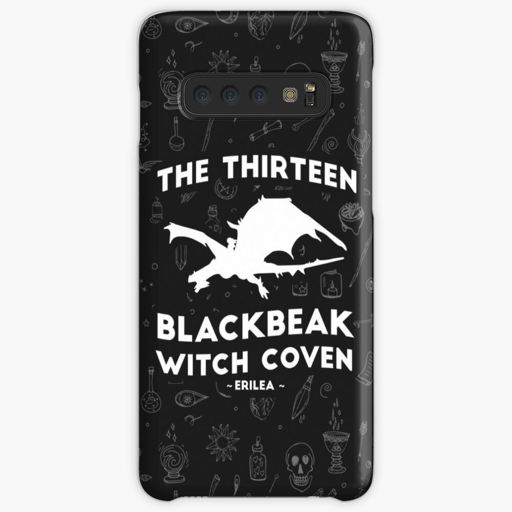 Manon Blackbeak, The Thirteen Blackbeak Witch Coven, Asterin Blackbeak,  Irontheet Witches, Throne of Glass   Case & Skin for Samsung Galaxy