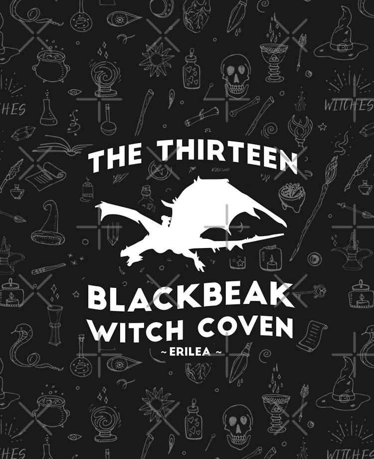Manon Blackbeak, The Thirteen Blackbeak Witch Coven, Asterin Blackbeak,  Irontheet Witches, Throne of Glass   iPad Case & Skin