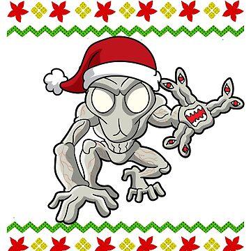 Massachusetts Dover Demon Ugly Christmas by frittata