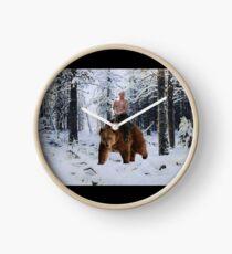 Putin auf einen Bären Uhr